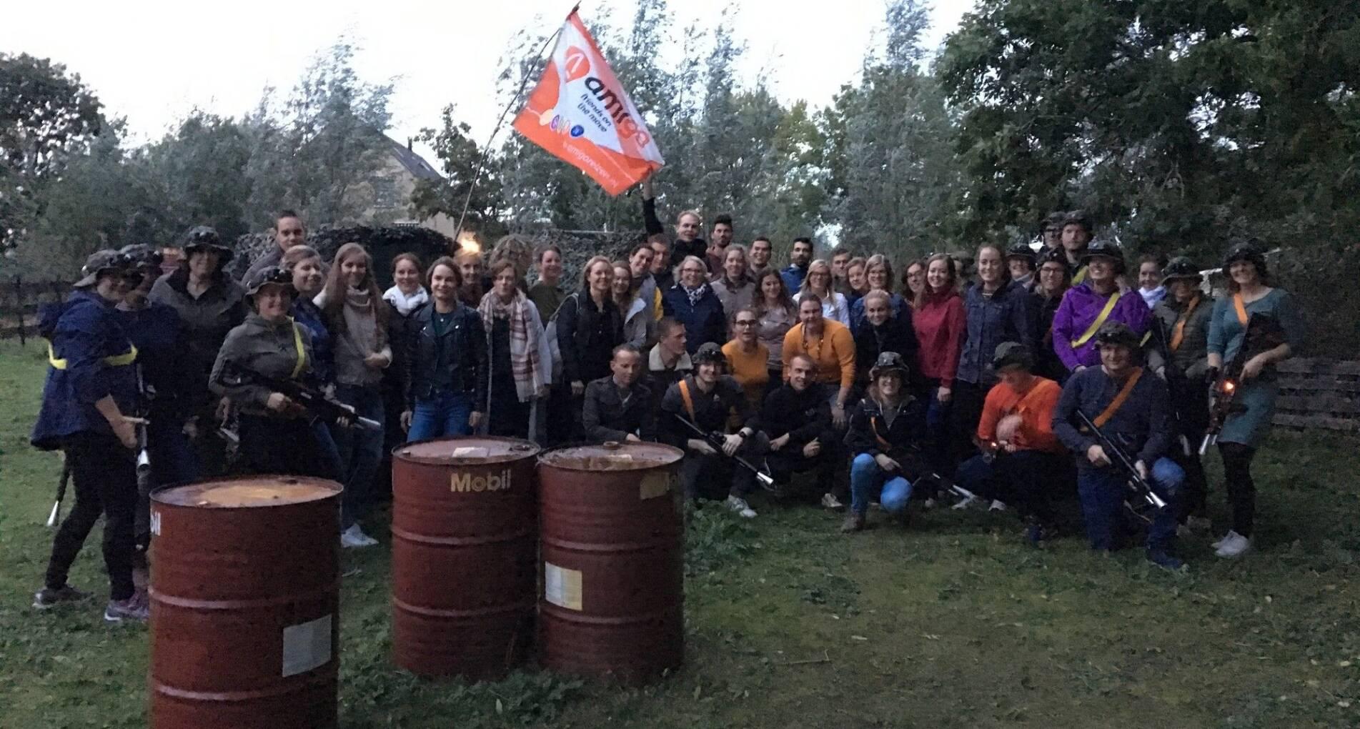 AmiGO Outdoor Lasergame Event - Nederland - 1