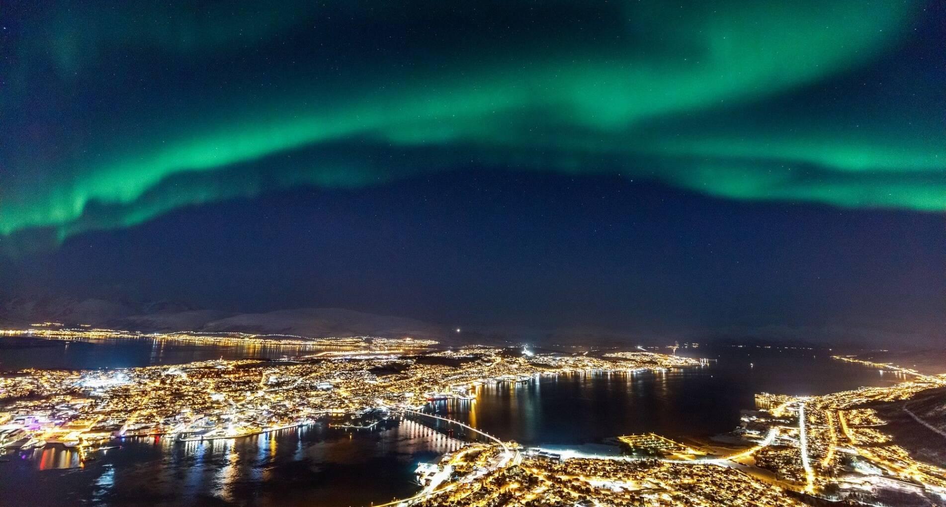 Noorderlicht in Tromsø: Fjorden, husky's en sneeuwscooters - Noorwegen - 1