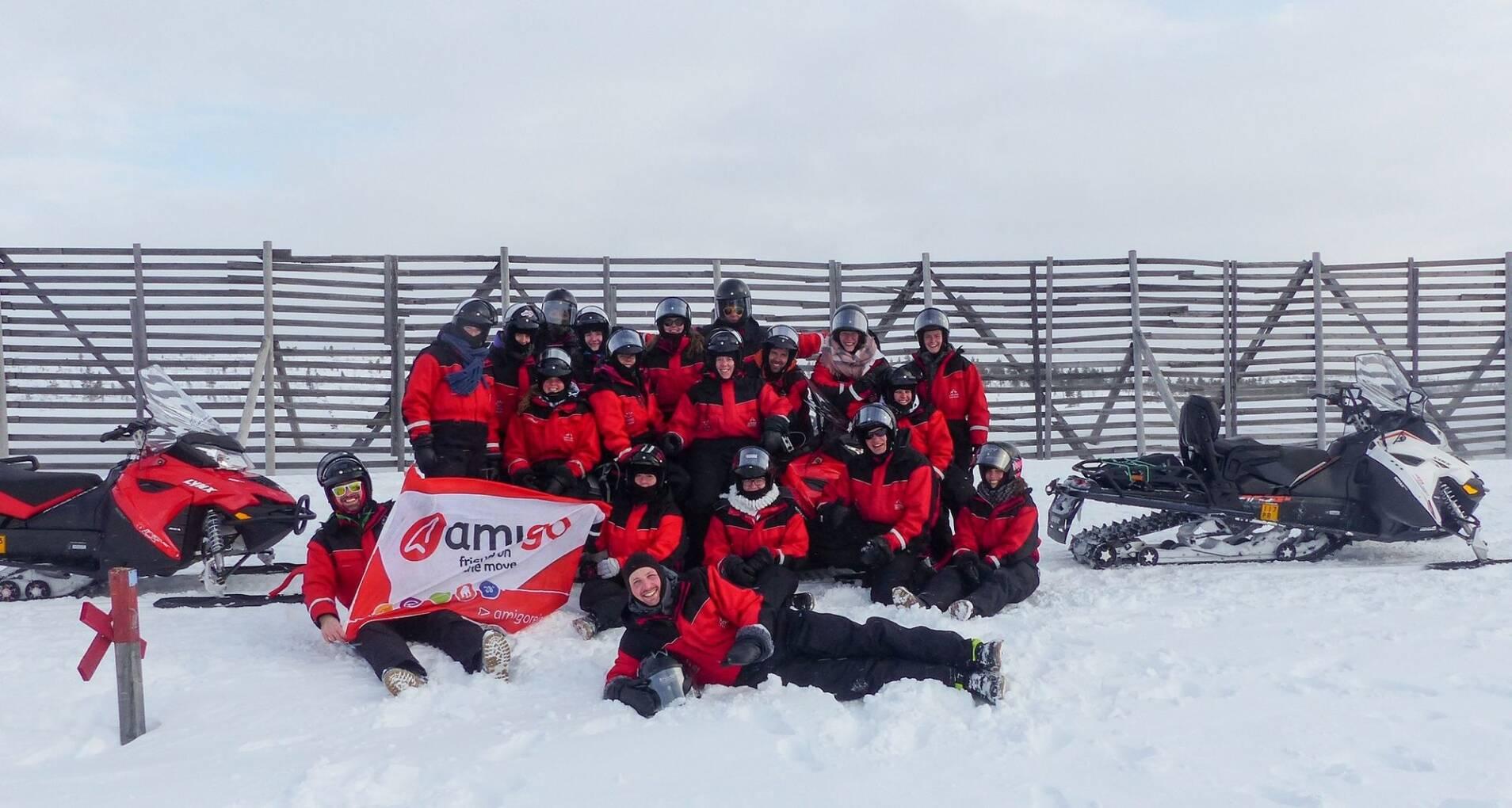 Winter Adventure Fins Lapland - Finland - 1