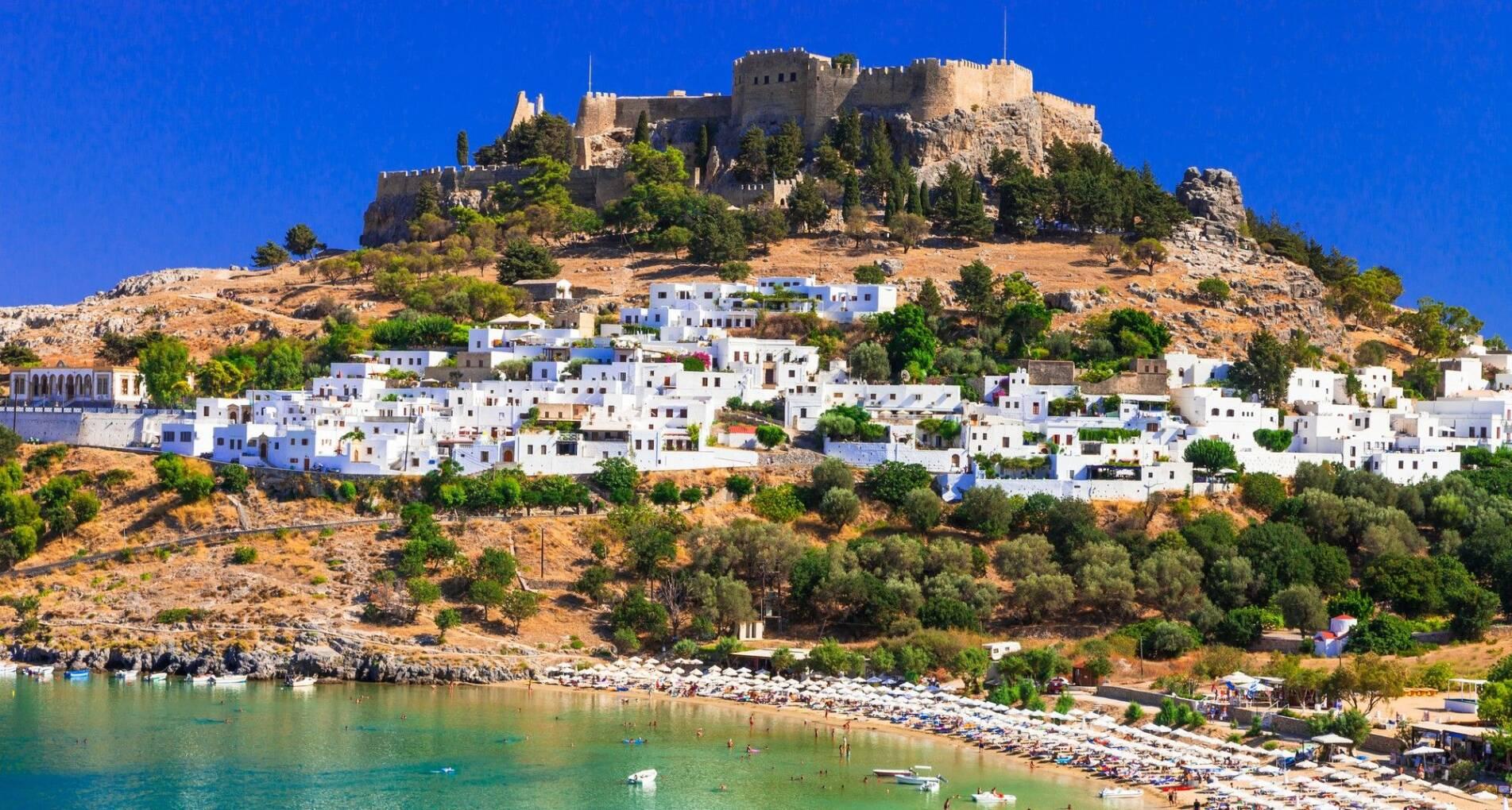 Rhodos: Zon, vlinders en sponzen - Griekenland - 1