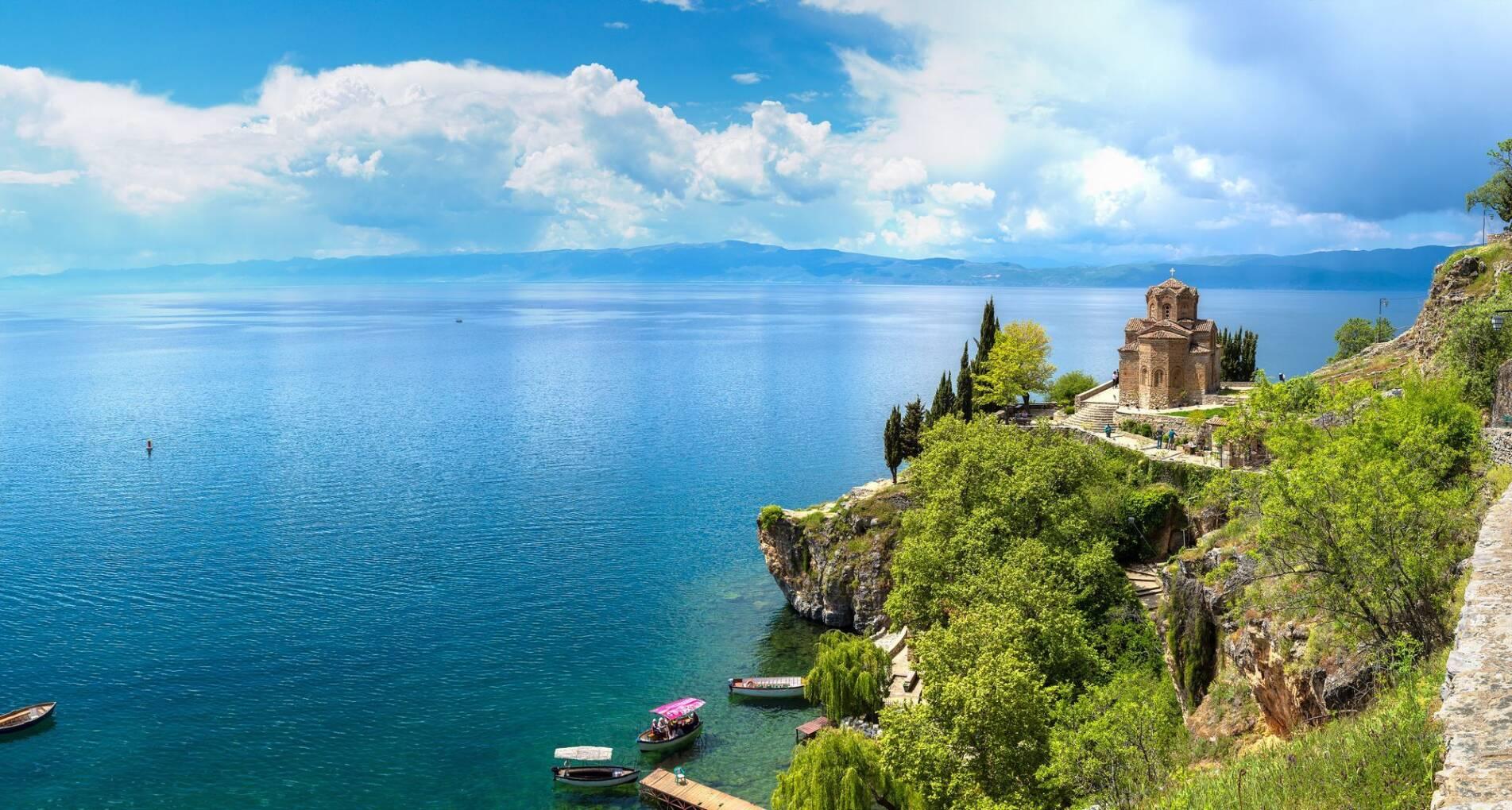 Macedonië, Meer van Ohrid - Macedonië - 1