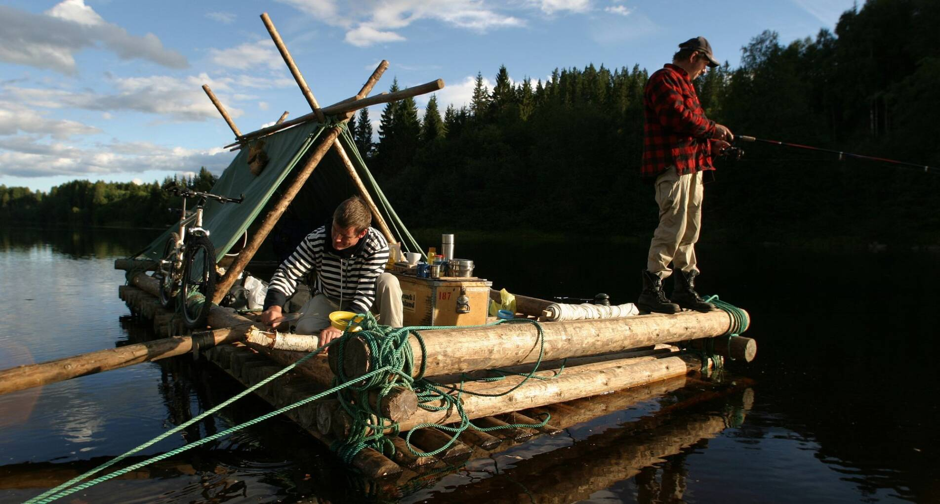 Houtvlotavontuur: Zweedse Klaräven, bossen en meren  - Zweden - 1