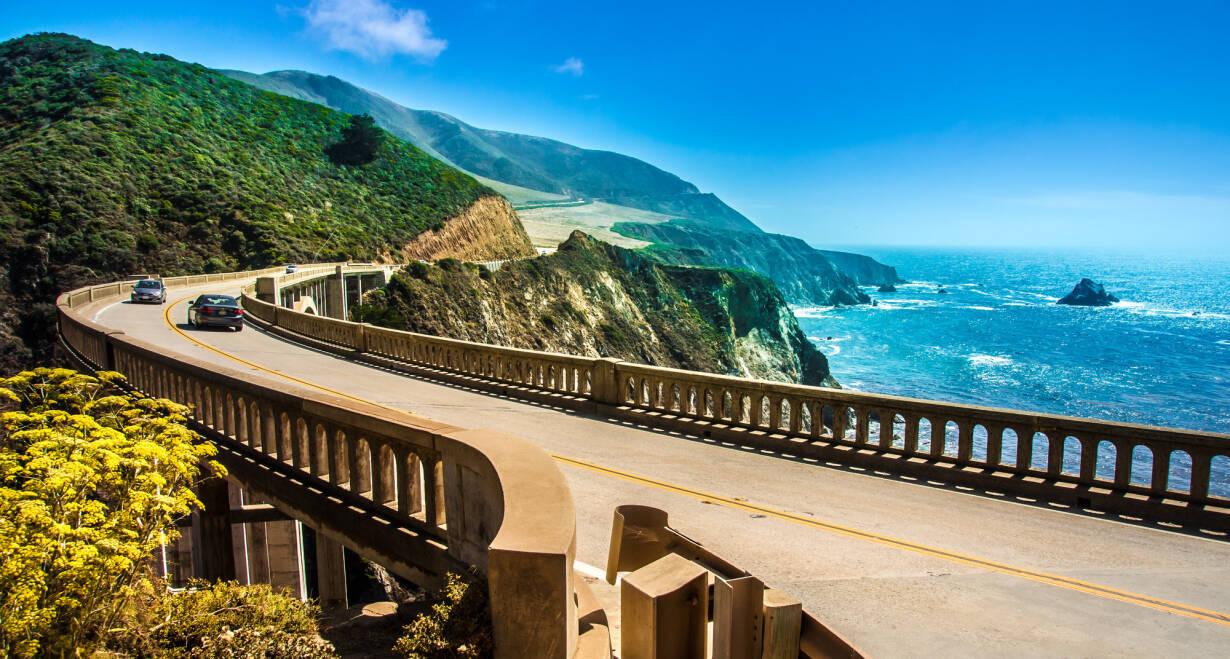 Fly & Drive Amerika, The Best of West - AmerikaSan Francisco - Santa Maria (ca. 540 km)