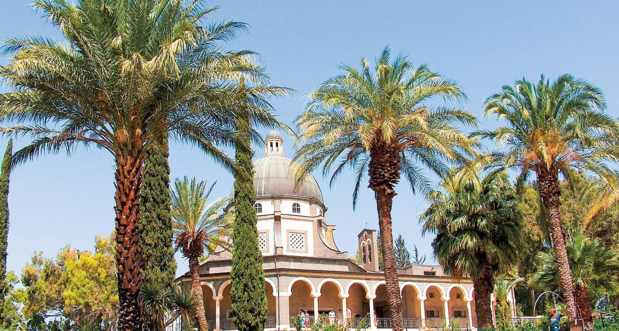 Israël in de meivakantie  - IsraelCaesarea – Karmel – Sachne – Tiberias