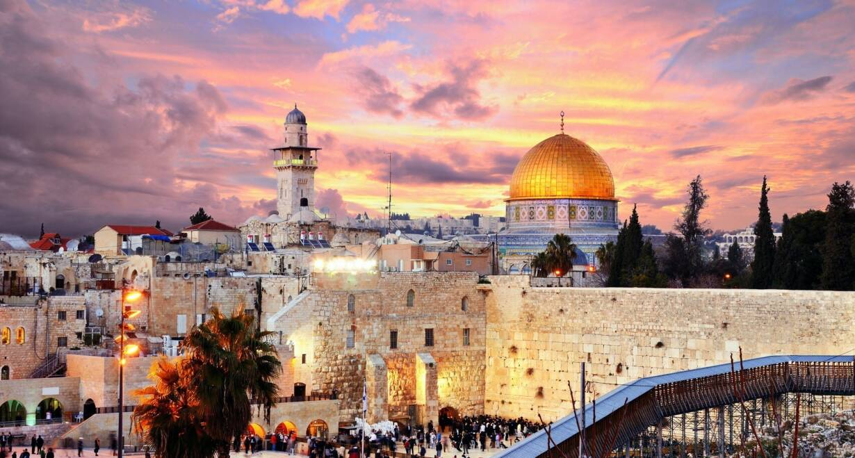 Israël in de meivakantie  - IsraelTerugreis Tel Aviv - Nederland