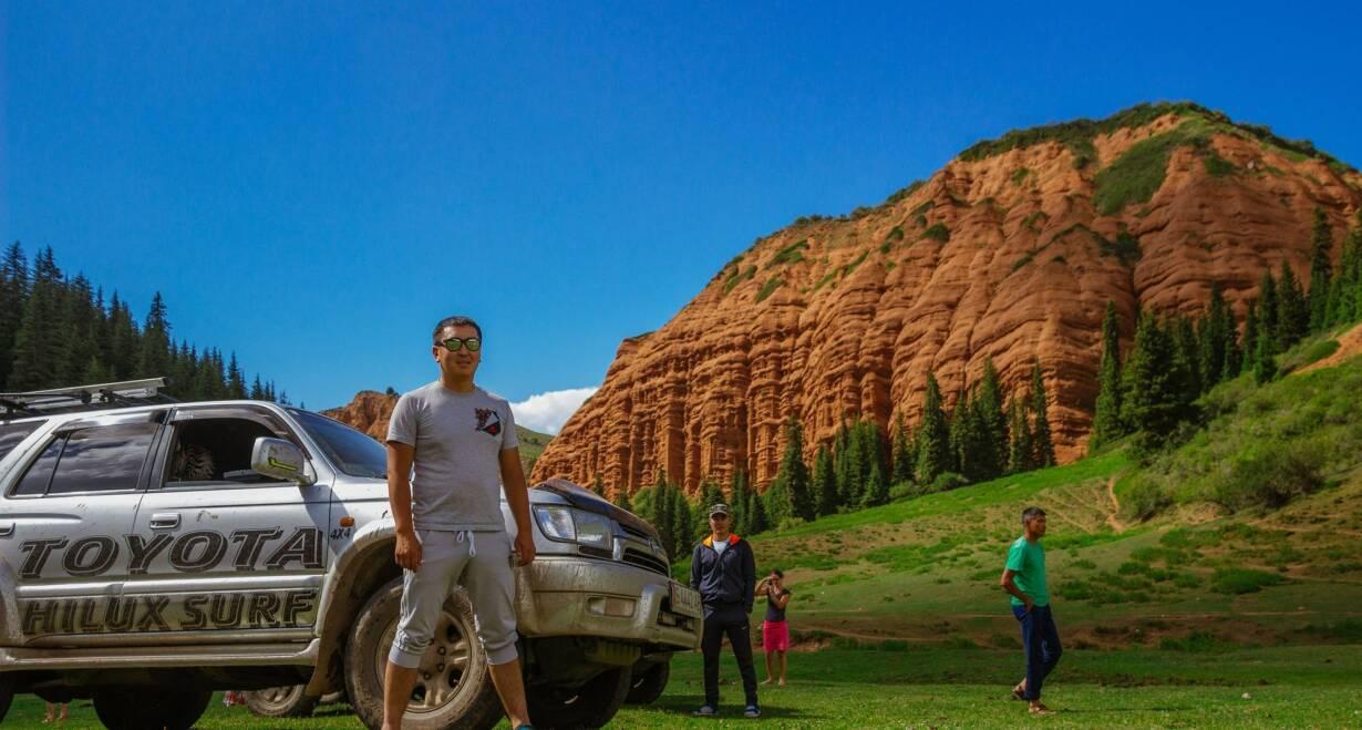 Avontuurlijk Kirgizië: Himalaya, yurts en nomaden - KirgiziëJeep tour Irduk vallei