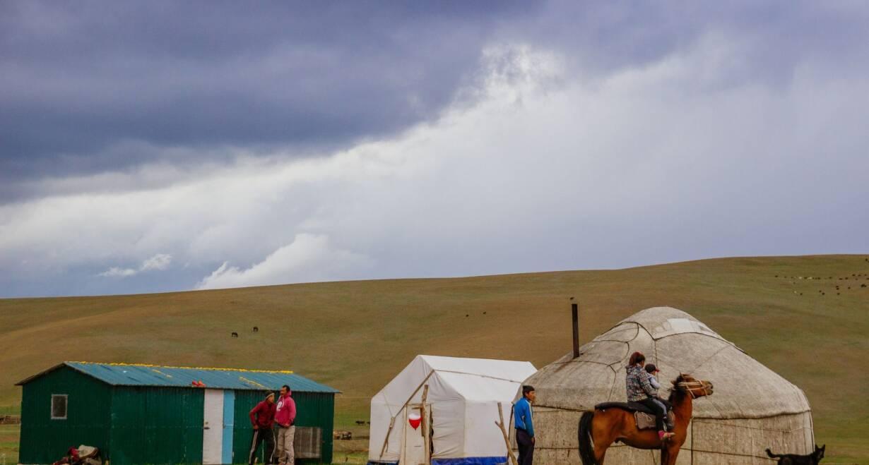 Avontuurlijk Kirgizië: Himalaya, yurts en nomaden - KirgiziëKarakol en lokale farm