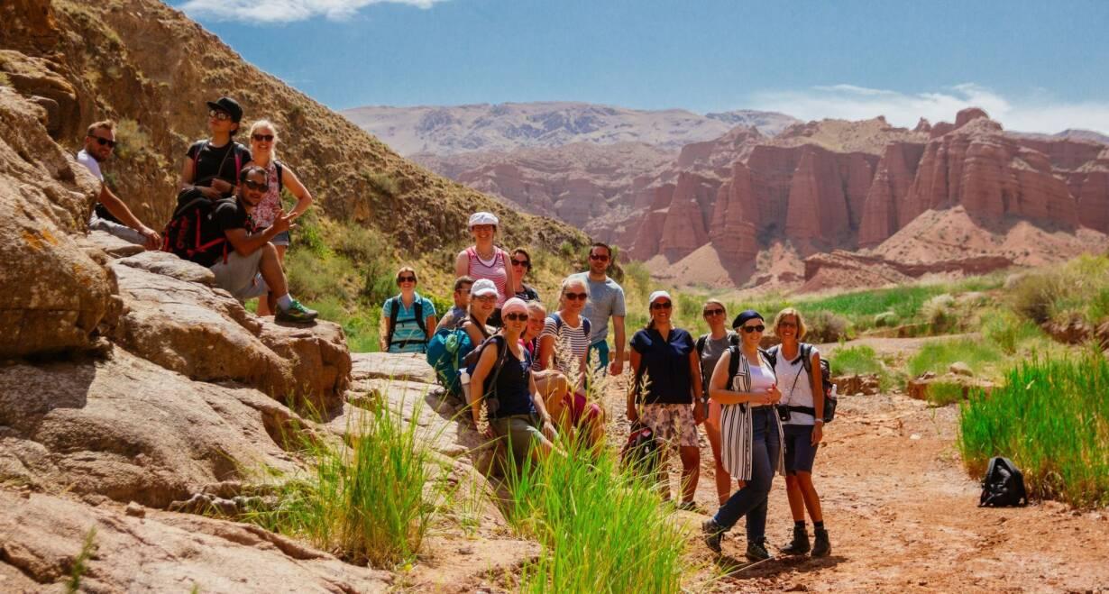 Avontuurlijk Kirgizië: Himalaya, yurts en nomaden - KirgiziëJeti Oguz vallei