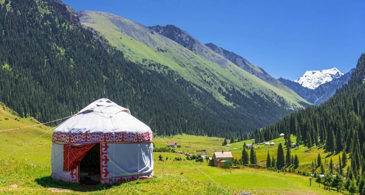 Avontuurlijk Kirgizië: Himalaya, yurts en nomaden - KirgiziëTerug naar Bishek