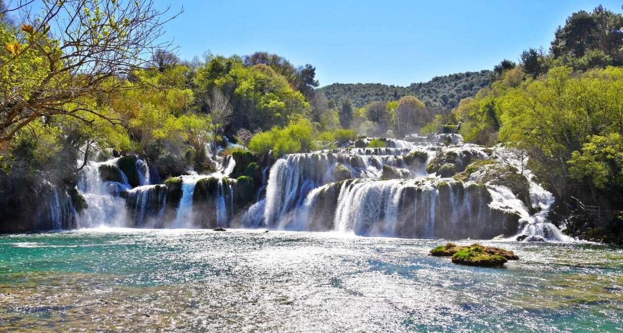 Fly & Drive Kroatië: Watervallen, eilanden en Dubrovnik - KroatiëSibenik, Skradin en Krka