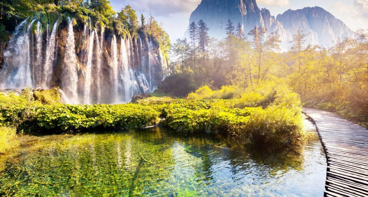 Fly & Drive Kroatië: Watervallen, eilanden en Dubrovnik - KroatiëPlitvice meren