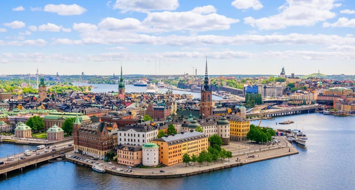 Fly & Drive Zweden: Stockholm, elanden en ongerepte natuur - ZwedenStockholm