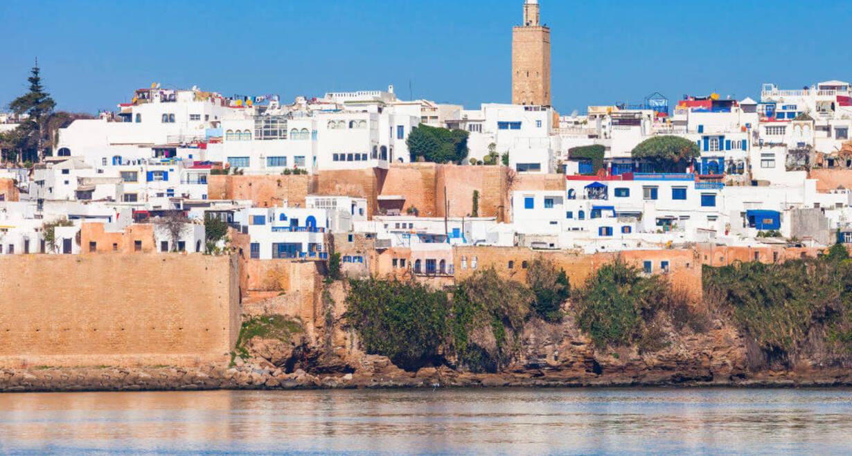 Fly & Drive Marokko: Koningssteden, kasbah's en Atlasgebergte - MarokkoDe hoofdstad Rabat