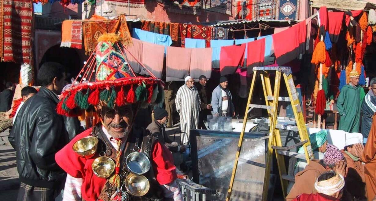 Fly & Drive Marokko: Koningssteden, kasbah's en Atlasgebergte - MarokkoEen dag in Fez