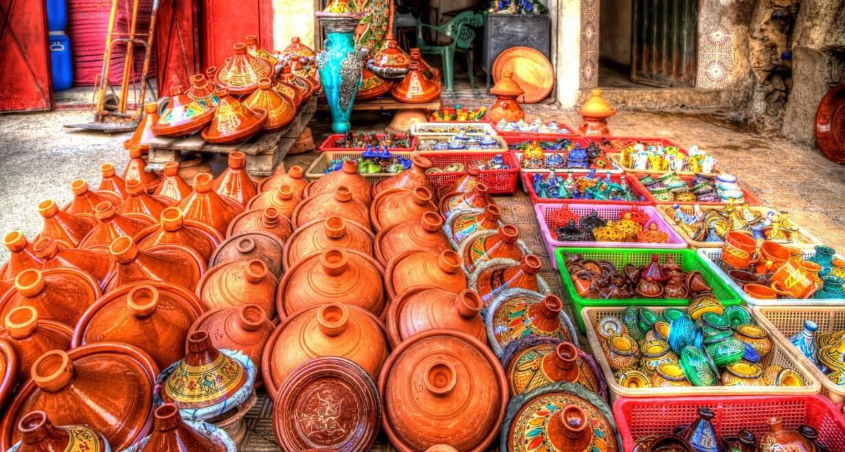 Fly & Drive Marokko: Koningssteden, kasbah's en Atlasgebergte - MarokkoSkoura en Quarzazate
