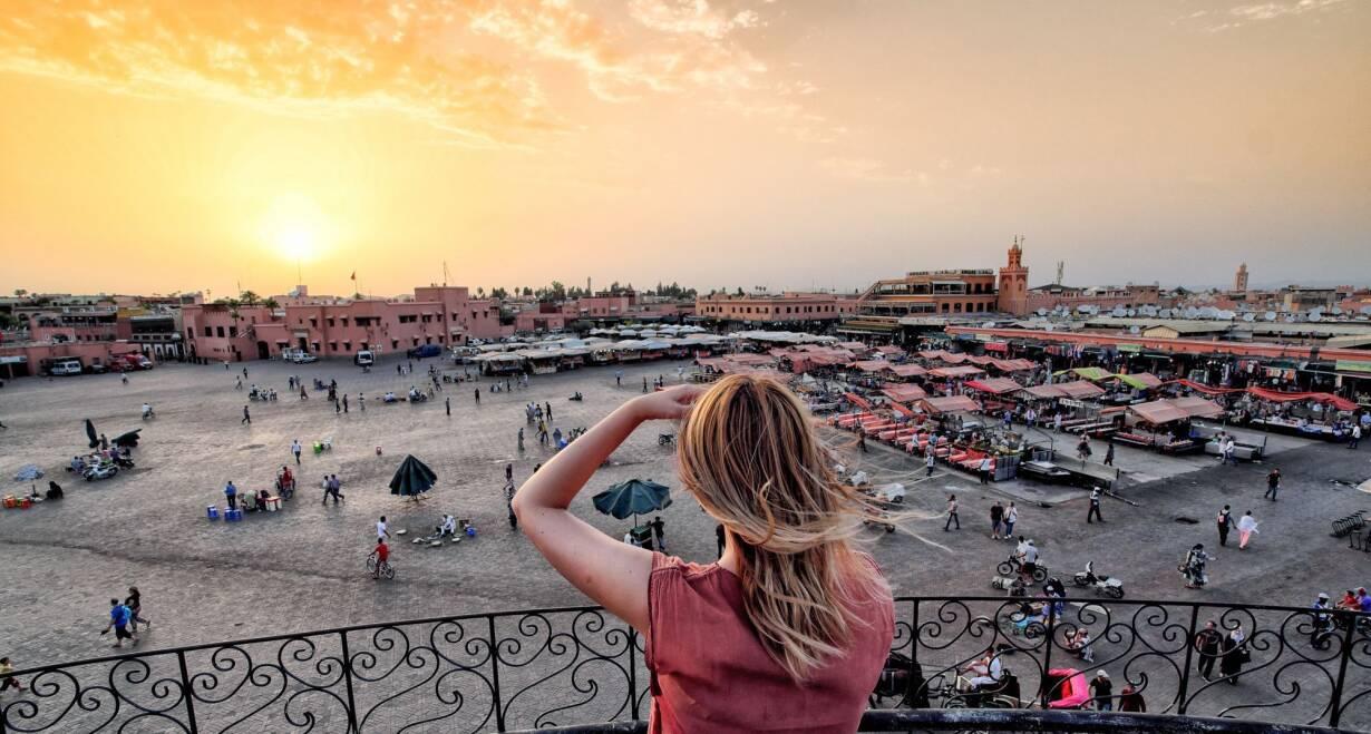 Fly & Drive Marokko: Koningssteden, kasbah's en Atlasgebergte - MarokkoEen dag in Marrakech