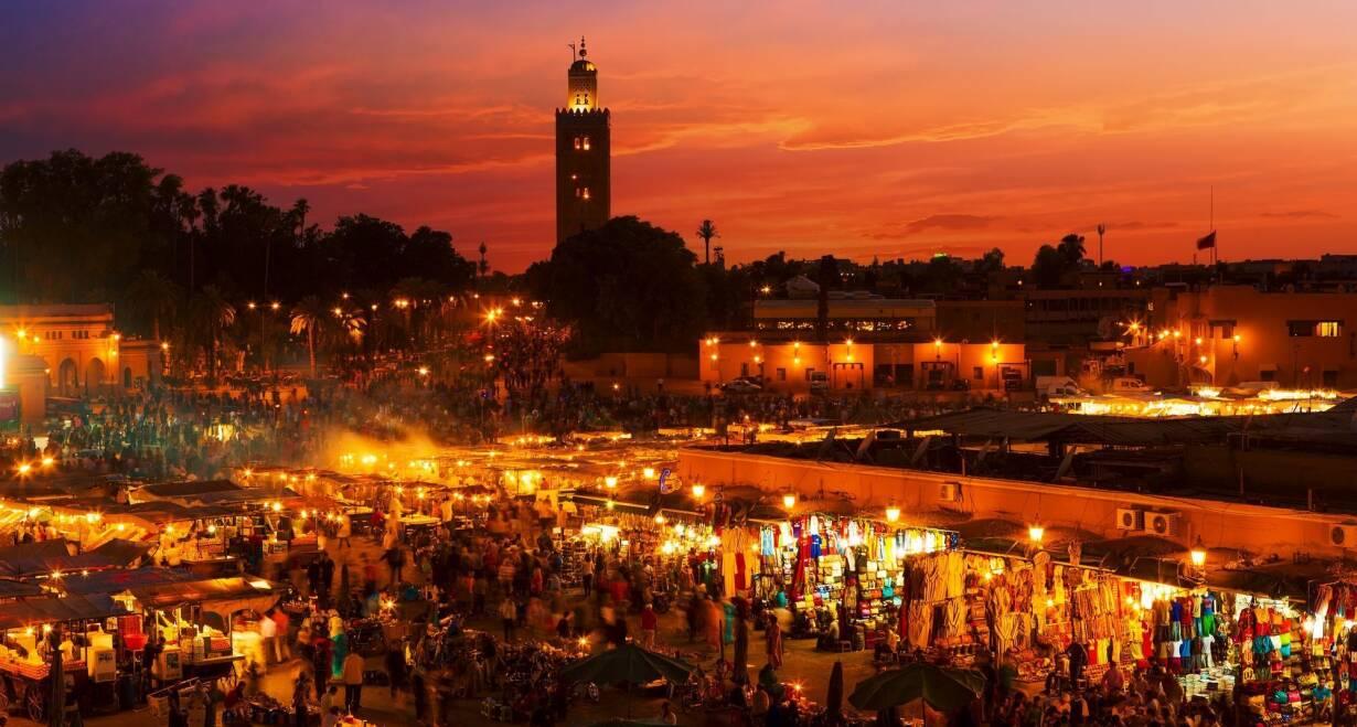 Fly & Drive Marokko: Koningssteden, kasbah's en Atlasgebergte - MarokkoVrije tijd en transfer naar Marrakech