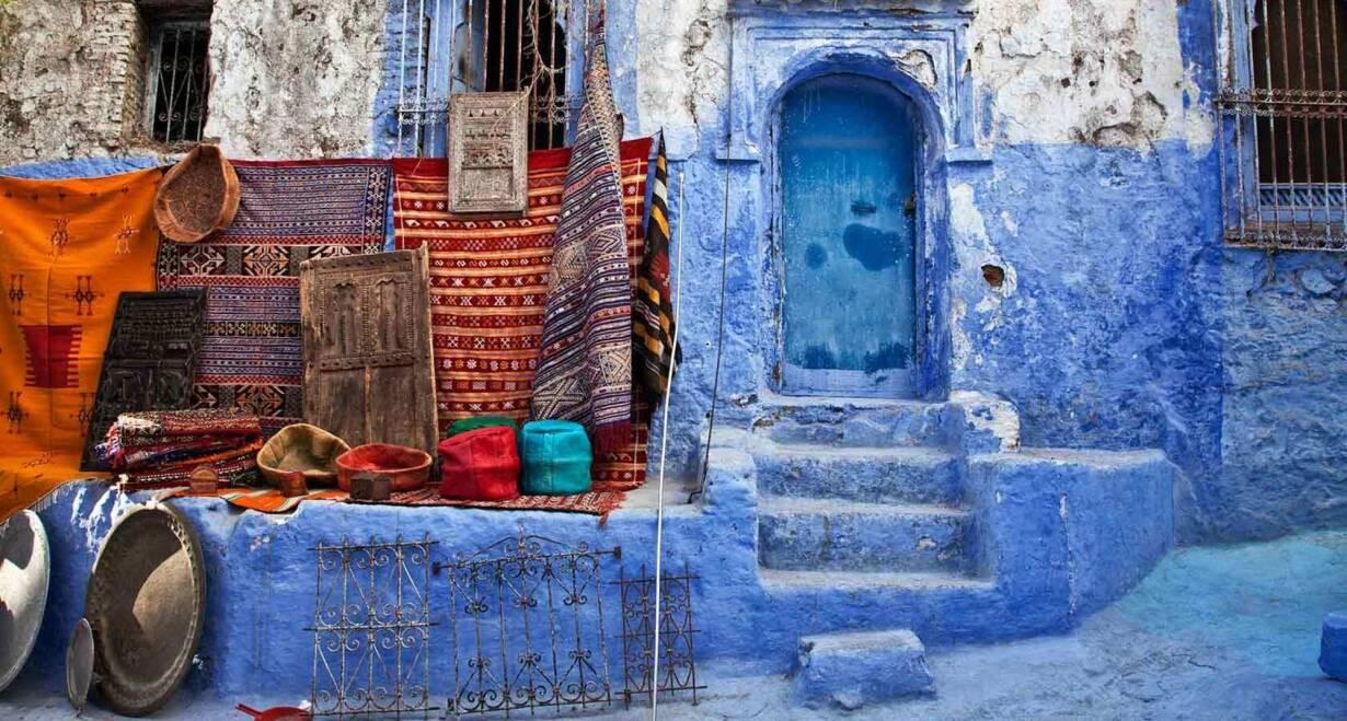 Fly & Drive Marokko: Koningssteden, kasbah's en Atlasgebergte - MarokkoChefchaouen, de blauwe stad