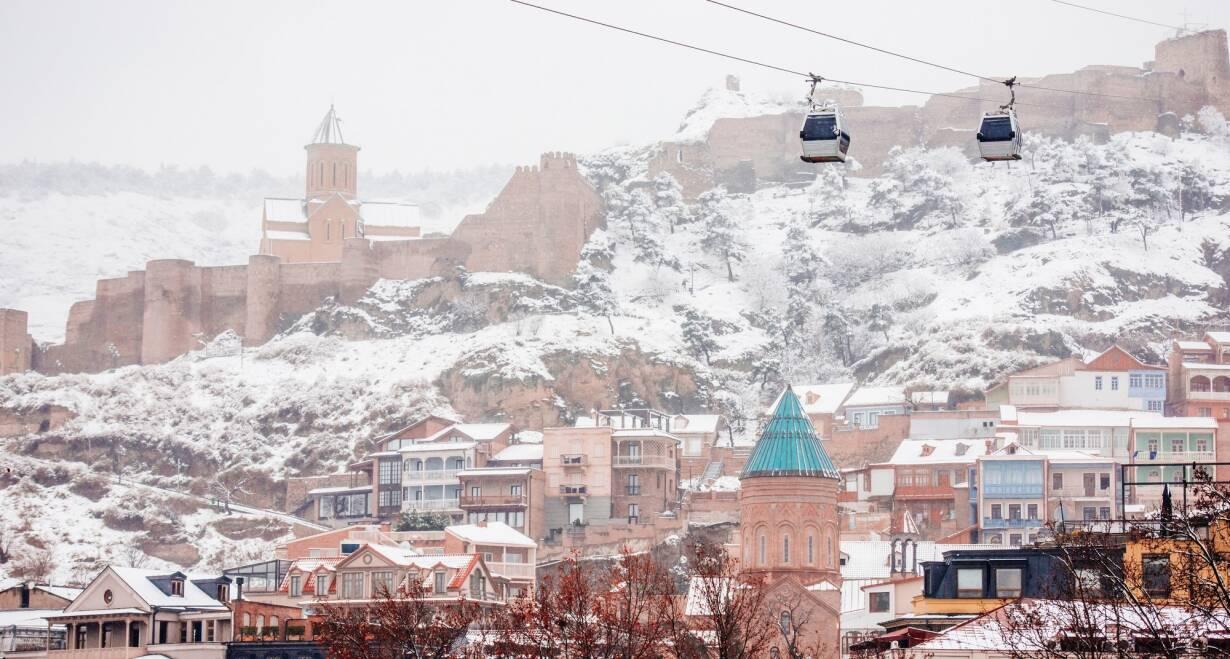 Nieuw! Avontuurlijke wintersport in Georgië - GeorgiëTbilisi ontdekken