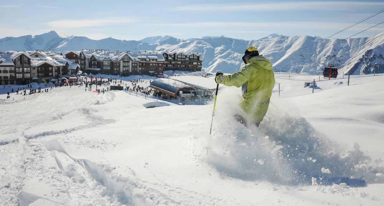 Nieuw! Avontuurlijke wintersport in Georgië - GeorgiëSkiën in Gudauri!