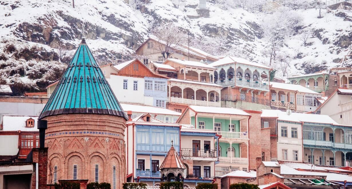 Nieuw! Avontuurlijke wintersport in Georgië - GeorgiëSkiën & Tbilisi