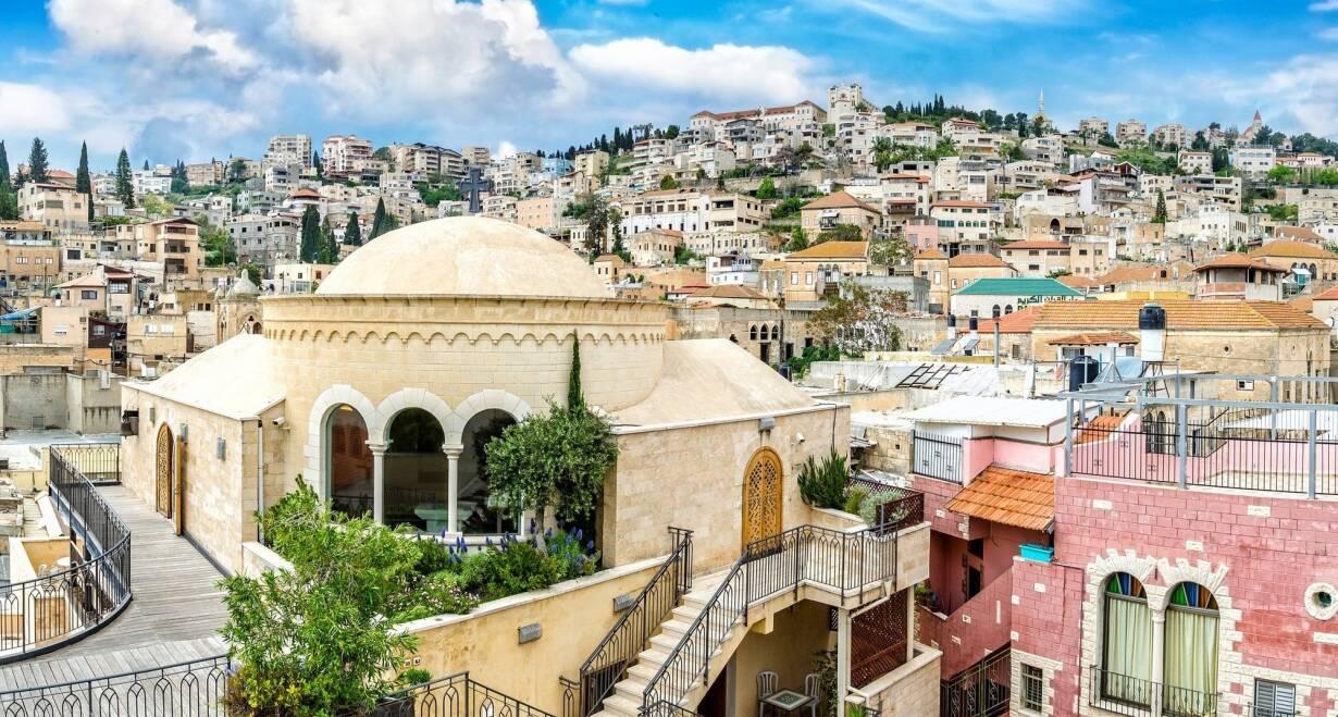 Israël in de meivakantie  - IsraelNazareth - Beit Shean - Qasr el Yahud
