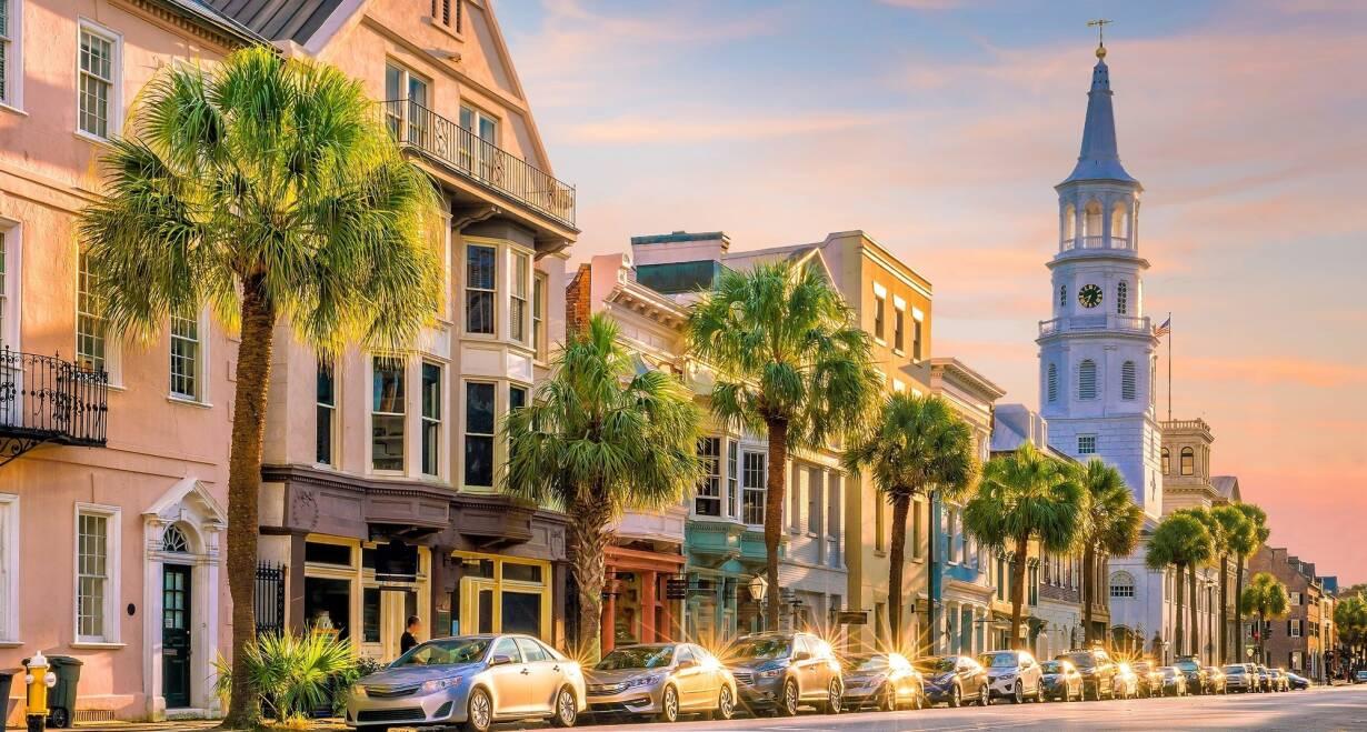 Fly & Drive Amerika, New York en Sunny Florida - AmerikaAsheville – Charleston, c. 445 km