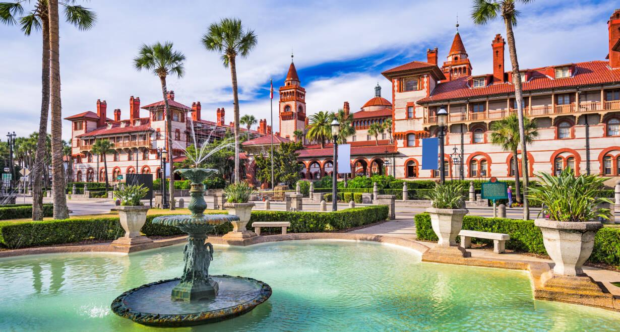 Fly & Drive Amerika, New York en Sunny Florida - AmerikaCharleston – St. Augustine, ca. 450 km
