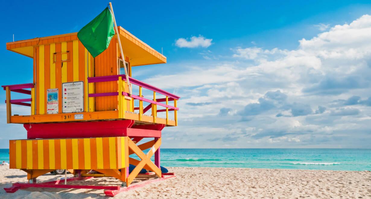 Fly & Drive Amerika, New York en Sunny Florida - AmerikaSt. Augustine – Miami Beach, ca. 500 km
