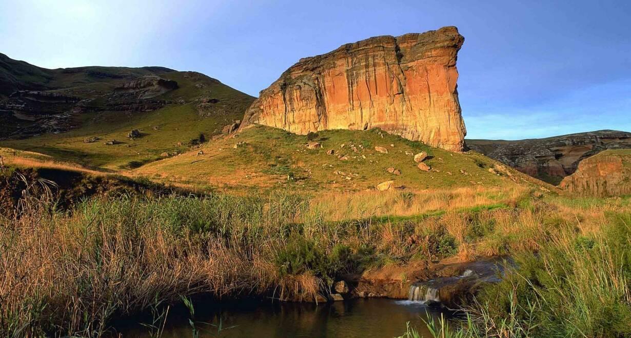 Fly & Drive Zuid-Afrika: Krugerpark, Swaziland en de Drakensbergen - Zuid-AfrikaDrakensbergen – Clarens (350 km)