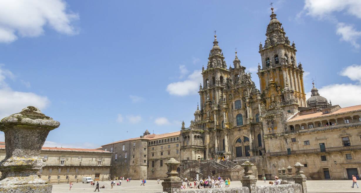 Fly & Drive Spanje en Portugal: van Bilbao naar Porto - SpanjeLeón - Santiago de Compostella