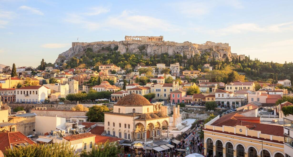 Jeep Adventure in de herfstvakantie: van Athene naar Zakynthos - GriekenlandVertrek naar Athene
