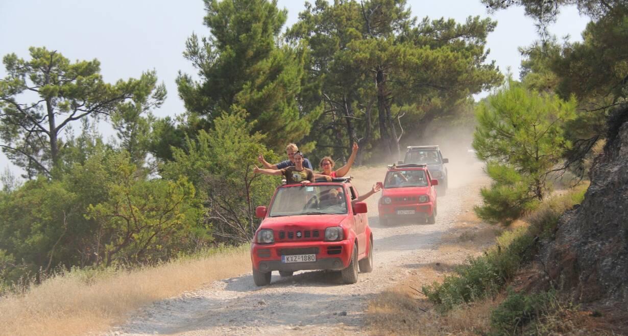 Jeep Adventure in de herfstvakantie: van Athene naar Zakynthos - GriekenlandOp weg naar de kust