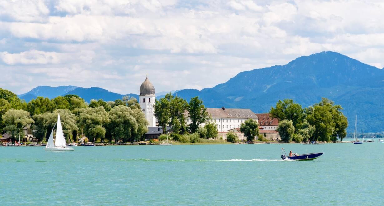 Fietsreis Chiemsee & Zell am See - OostenrijkAschau en Bernau (ca. 40 km)