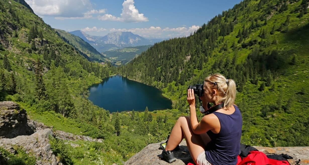 Bergwandelen in het Oostenrijkse Paznauntal - OostenrijkWandeling naar de Berglisee