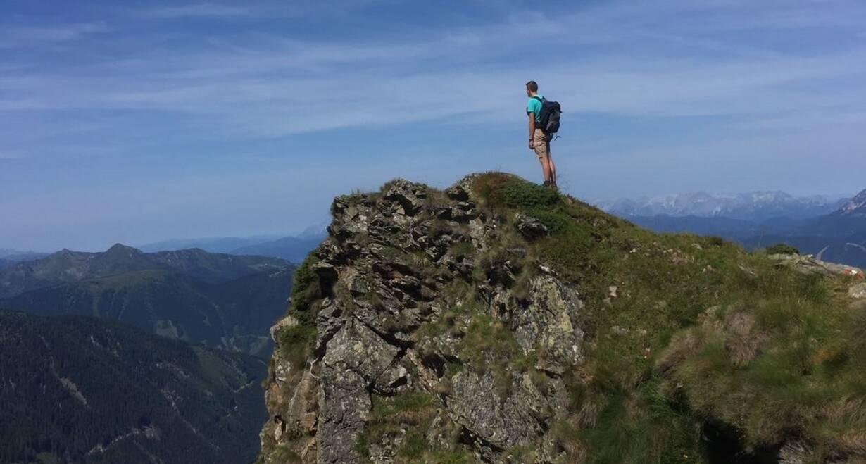 Bergwandelen in het Oostenrijkse Paznauntal - OostenrijkBeklimmen van de Hintere Jamspitze