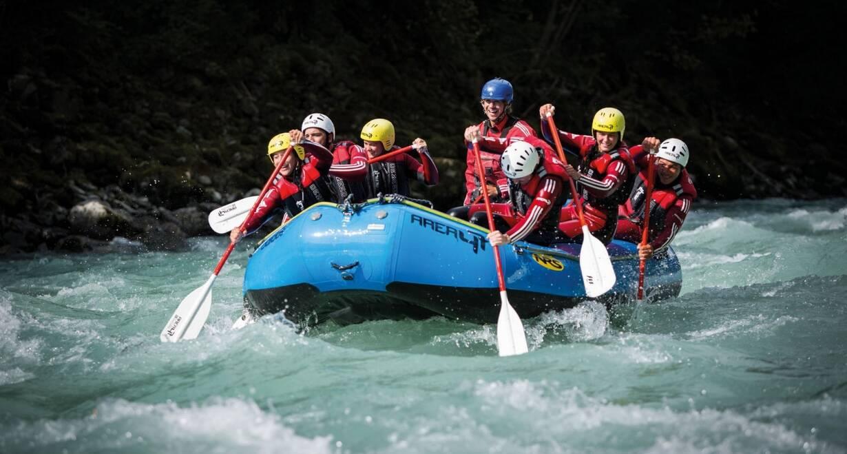 Bergwandelen in het Oostenrijkse Paznauntal - OostenrijkWandeling naar Hausberg of raften