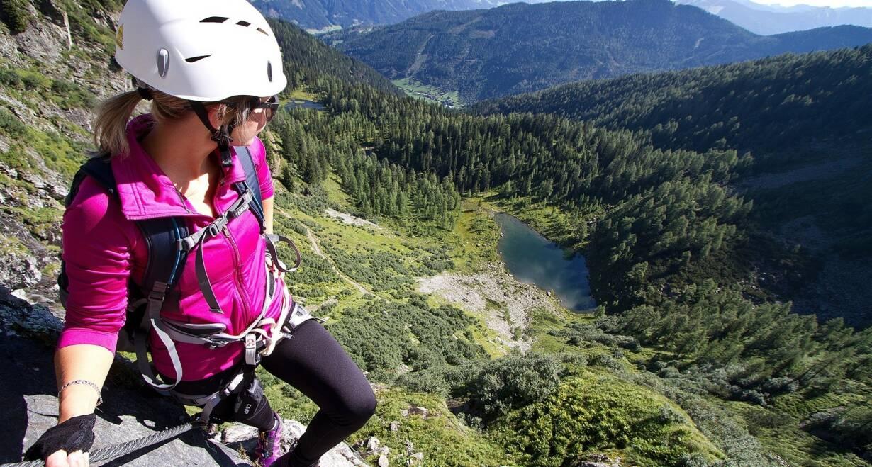 Bergwandelen in het Oostenrijkse Paznauntal - OostenrijkOptionele klettersteig en dalen naar Silvretta