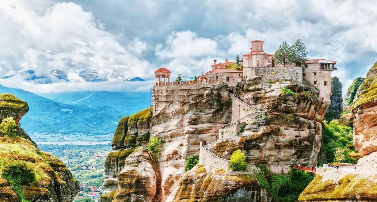 Fly & Drive Griekenland: Thessaloniki, Noord Griekenland en Meteora - GriekenlandMonodendri - Kalamabaka