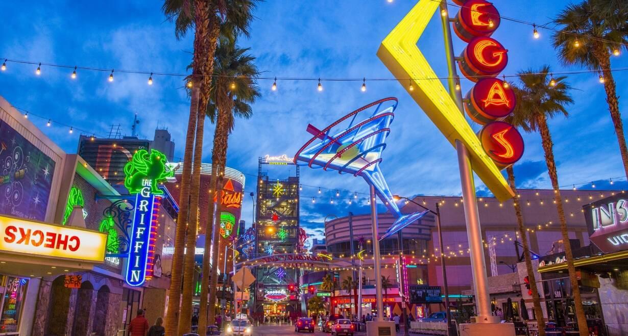 Fly & Drive Amerika, The Best of West - AmerikaSt. George – Las Vegas, ca. 200 km.